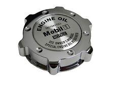 CHROME MOBIL 1 LS-STYLE JDM CNC BILLET ENGINE OIL FILLER CAP FOR HONDA ACURA