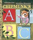 Little Golden Book: Richard Scarry's Chipmunk's ABC by Roberta Miller (1994, Hardcover)