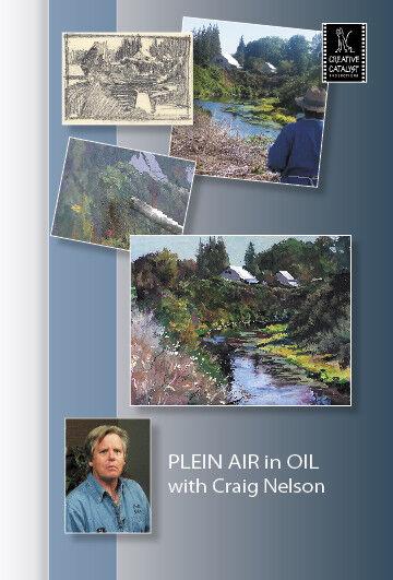 Plein Air in Oil with Craig Nelson - Art Education DVD