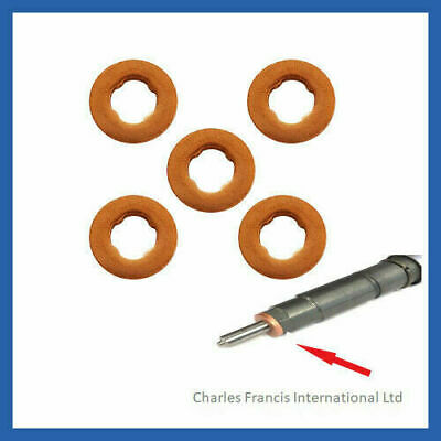 LDV MAXUS 2.5 CRD COMMON RAIL DIESEL INJECTOR WASHER SEAL PACK OF 5