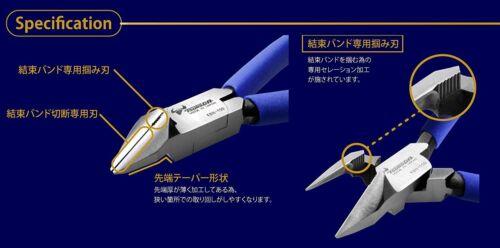 KBN-150 MADE IN JAPAN Câble TSUNODA Cravate Pince coupante 158 mm
