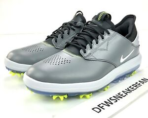 f5f0e13f1ab Nike Air Zoom Direct Mens Size 9.5 Golf Shoes Grey Black 923965 002 ...