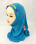 Ramadan-Hjiab-Cap-Children-Girls-Scarf-Muslim-Wrap-Shawls-Islamic-Headwear-Hijab thumbnail 19