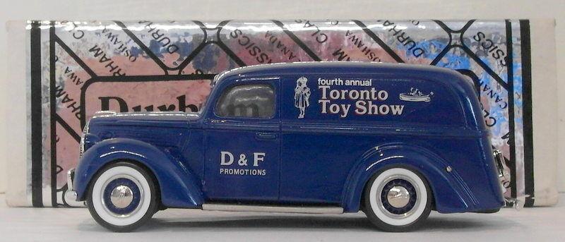 Durham, maßstab 1  43 die 24 - 1939 ford panel lieferwagen tGoldnto spielzeug zeigen, 1987