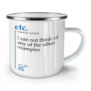 Etc Other NEW Enamel Tea Mug 10 oz | Wellcoda