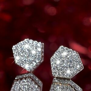 18k-yellow-white-gold-2-tone-stud-made-with-Swarovski-crystal-luxury-earrings