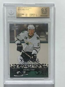 2008-09-James-Neal-Upper-Deck-Young-Guns-209-Rookie-RC-Card-BGS-9-5-GEM-MINT