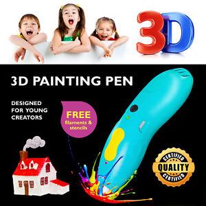 3D Pen Drawing Sculpting Printing Pen Wi-Fi Capabilities Child Safe ECO