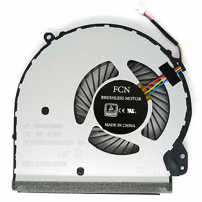 HP 17-X 17T-X 17-Y 17Z-Y Laptop Cpu Fan 856681-001