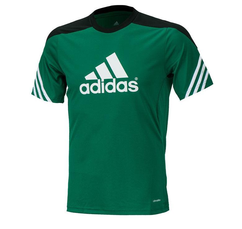 Adidas Sereno 14 Training S/s Jersey F49702 Soccer Football Gym Top T-shirts