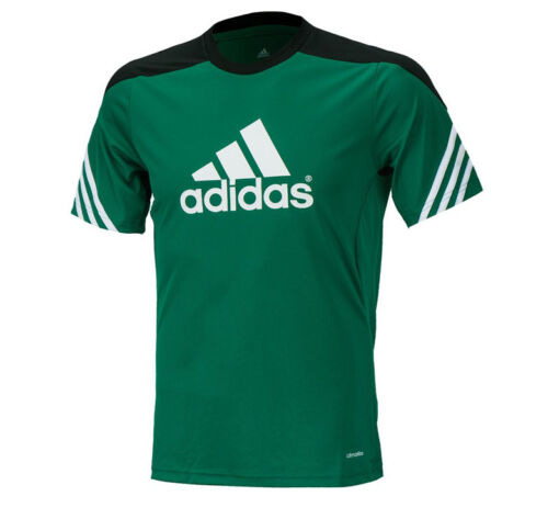 Adidas Sereno14 Training S//S Jersey F49702 Soccer Football Gym Top T-shirts