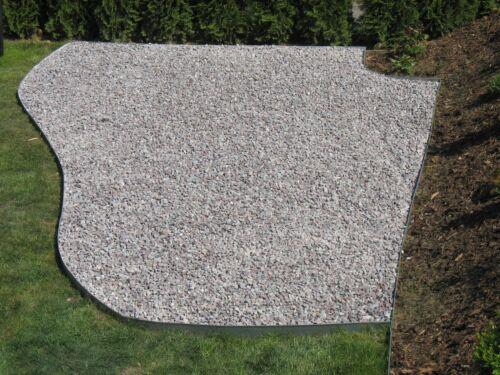 Rasenkanten Metall verzinkt H240 mm  Einzelteile verzinkt  Metall Rasenkanten