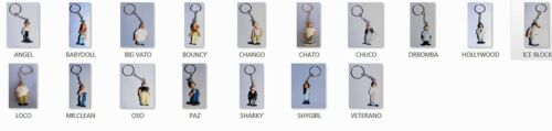 "HOMIES SERIES #2 TWO Keychain Figurines /""You Choose/"" figure"