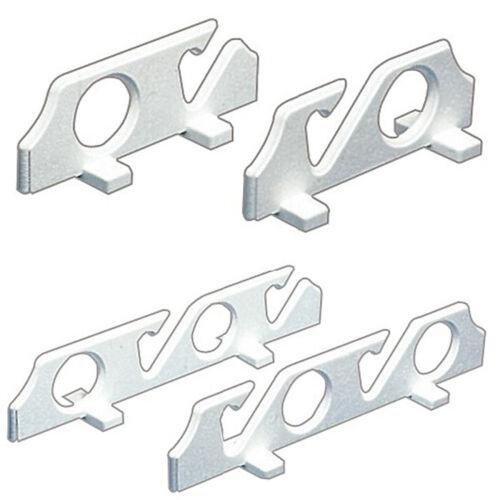 Osculati Angelruten-Halter-Set 2-fach oder 4-fach Halterung Angeln Wand Boot