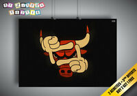 Poster Chicago Bulls Nba Swag Wall Art