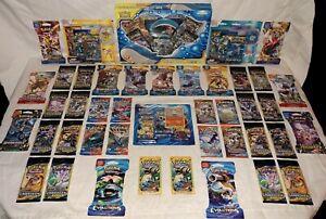 54 Pokemon Packs - RARE TOWERING SPLASH GX Box Collection Lot 7 Evolutions Packs