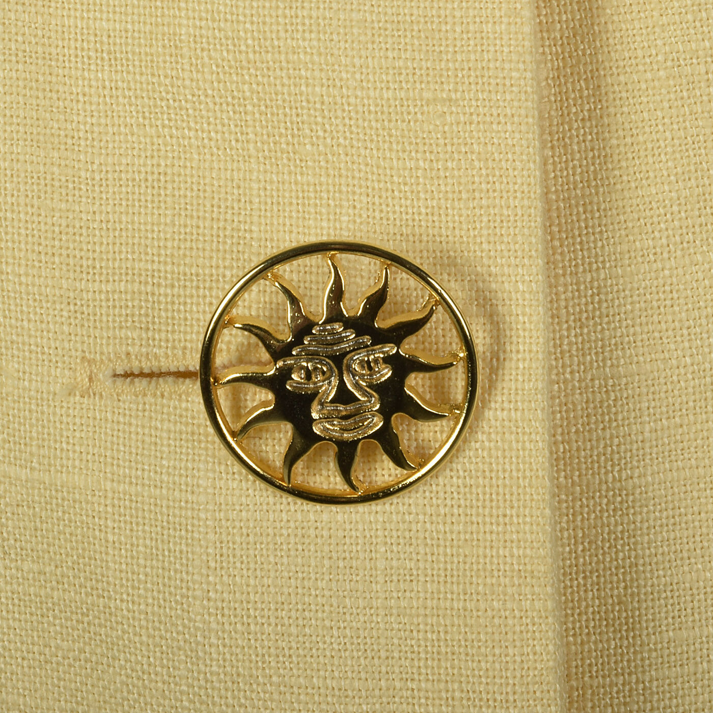 M 1990s Moschino Cheap & Chic Yellow Linen Suit S… - image 11