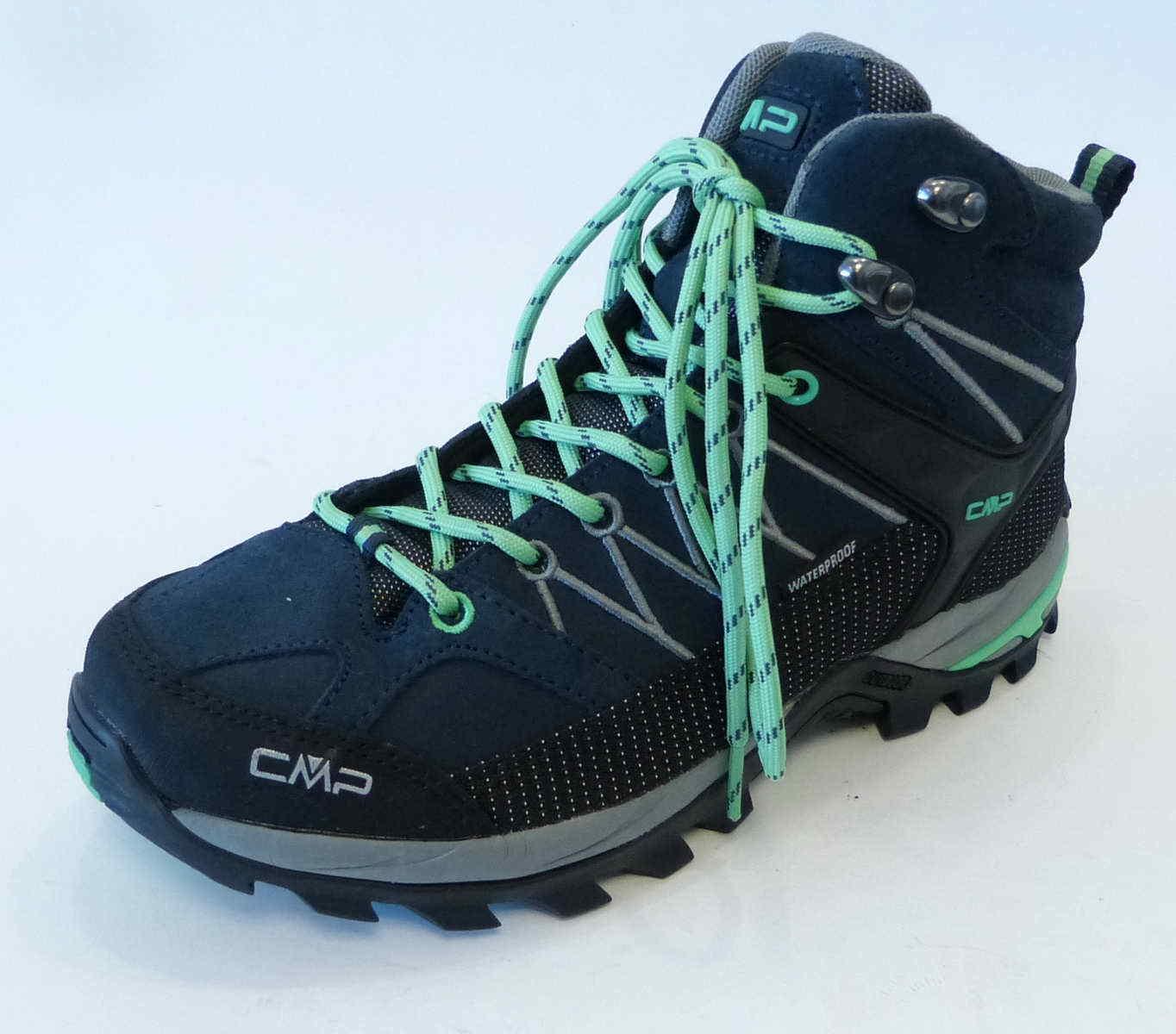 Campagnolo CMP trekking bota asfalto Mint ice Rigel mid W Sport senderismo 3q12946