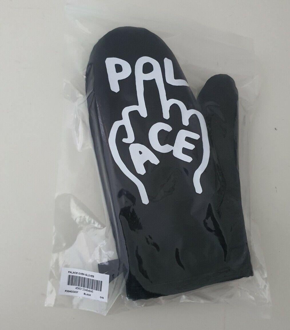 New SS21 Palace Skateboards Oven Gloves Black