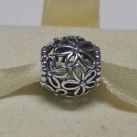 Authentic Pandora Charm 790890 Wildflower Walk Bead Box Included