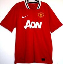 "EX MANCHESTER UNITED HOME SHIRT 2011/2012 M MEDIUM 38"" - 40"" 11/12 MAN UTD"