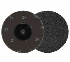 Neiko 11180a 10 Piece 3 24 Grit Silicon Carbide Sanding Discs Roll On And Loc