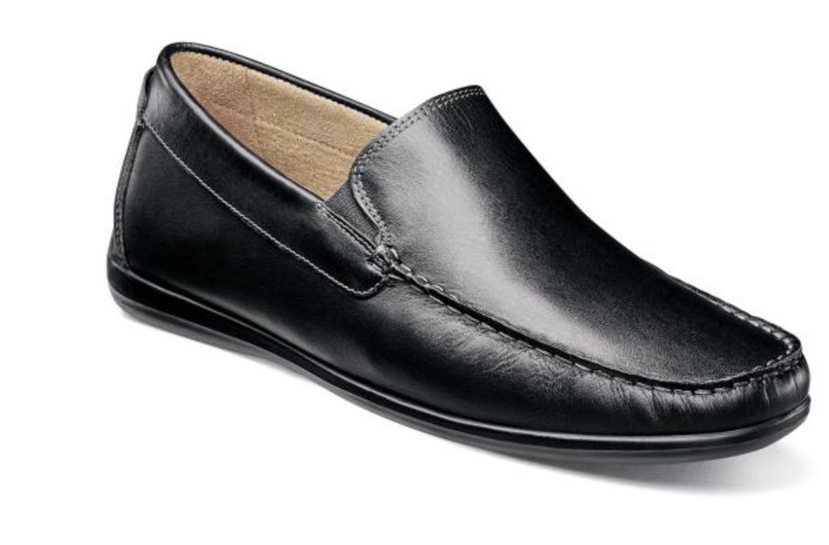 Florsheim Intrepid Moc Toe Vénicravaten Conducteur Chaussures Noir 13325-001