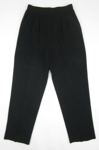 plissé taille en Fabriqué John tricot États noir Basics Santana 6 Unis aux St a devant Pantalon g8wWCHgcq
