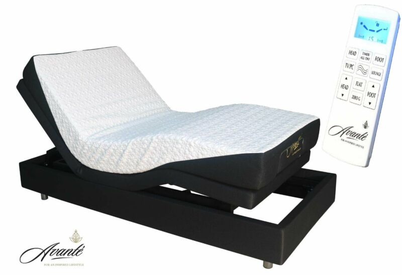 Electric Adjustable Bed - SmartFlex V2 - LAUNCH SPECIAL. - with massage function -