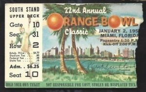 1956-Orange-Bowl-college-football-ticket-Maryland-Terrapins-v-Oklahoma-Sooners