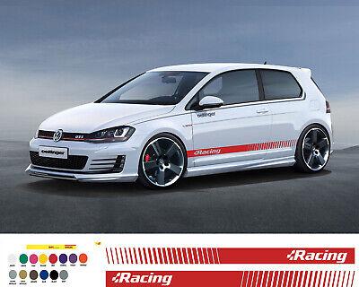 Vw Racing Strip Aufkleber Golf Sticker Gti R32 R Volkswagen Tuning Vw Aufkleber Ebay