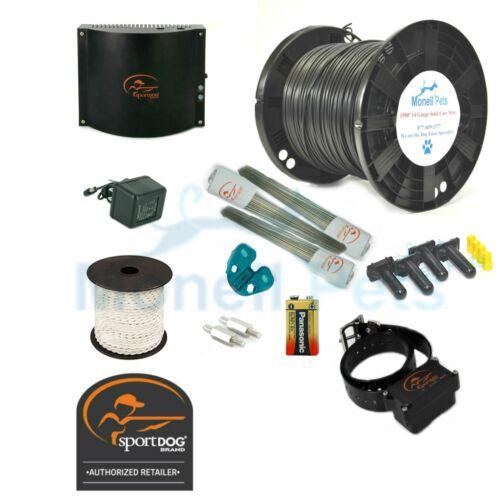 SportDog In-Ground Dog Fence 1500/' Single Roll 20,18,16,14 Gauge Wire 1-4 Dogs