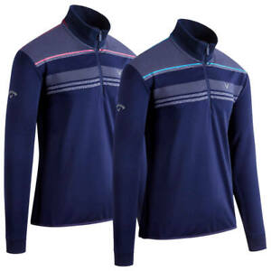 Callaway-Digital-Print-Chillout-1-4-Zip-Thermal-Golf-Sweater-New-for-2020