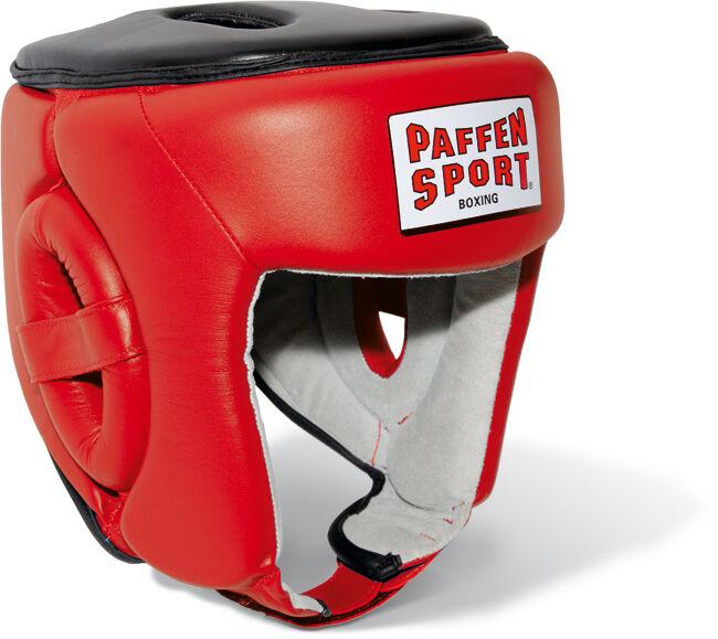 Paffen Sport- Contest Contest Contest Thai. Kopfschutz. Rot. S-XL. Muay Thai. Wettkampf. IFMA. 4a7c3a