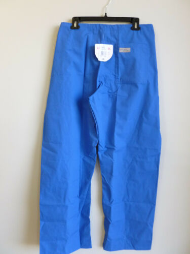 Urbane Royal Drawstring Scrub Pant Straight Leg Relaxed Fit #9502 Petite XXS