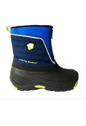 Arctic Shield Toddler Boys Waterproof Insulated Durable Winter Snow Boots Sz 9