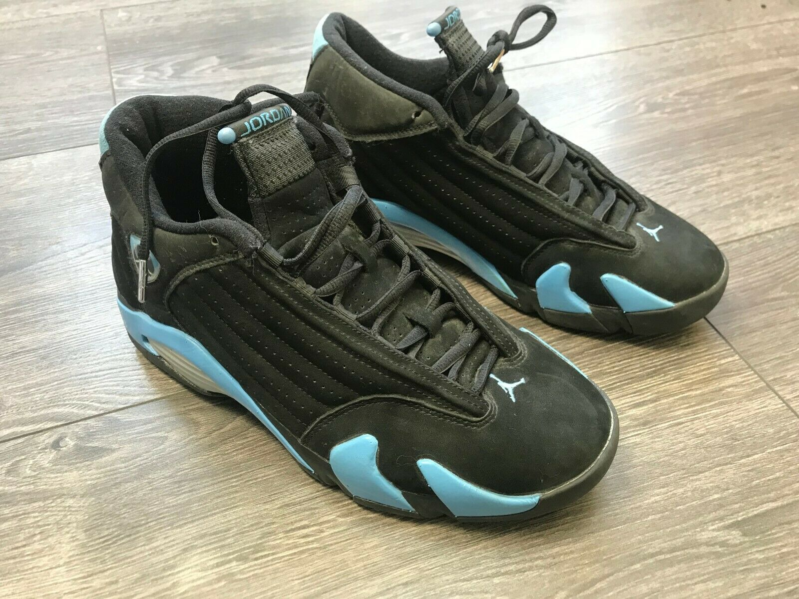 Nike Air Jordan 14 Trainers UK 8 (2005) XIV