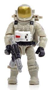 Lego Minifigure Astronaut Toy Mega Blocks --> 2 Inches Tall