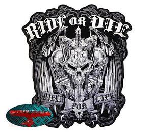 RIDE-OR-DIE-Patch-Aufnaeher-Aufbuegler-V2-Biker-Chopper-Rocker-Harley-1-patch