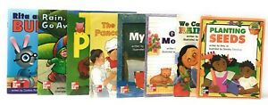 Children-s-McGraw-Hill-LEVELED-SCIENCE-READERS-Set-of-8-Books