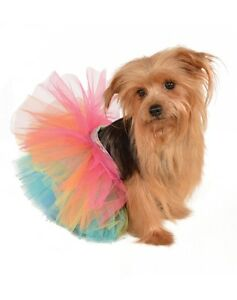 Rainbow Tutu Pet Costume, Rubies, 886537