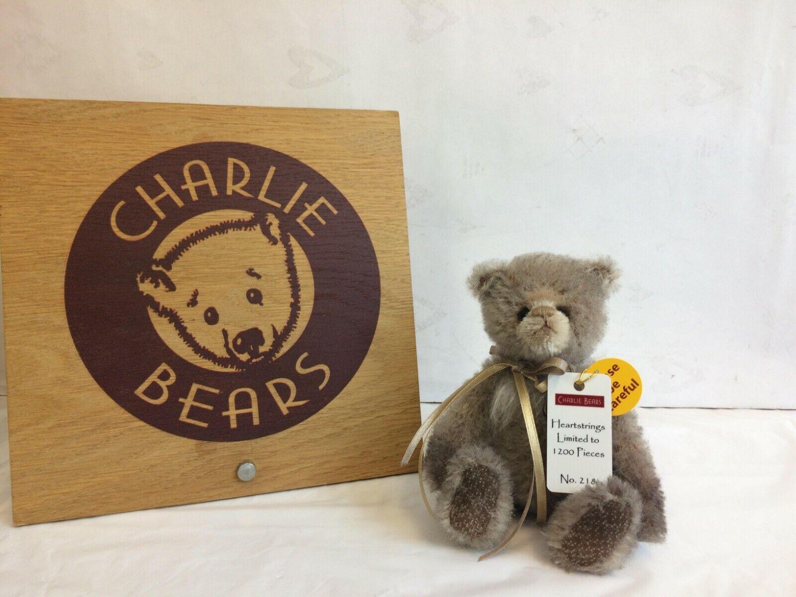 Charlie Bears Bears Bears Heartstrings minimo Orso-Nuovo con Etichetta-RIVENDITORE UFFICIALE 4bf6bd