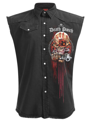 SPIRAL Direct 5FDP-Assassin-Lavoratore Con Licenza Gilet cinque FINGER DEATH PUNCH/SUPERIORE