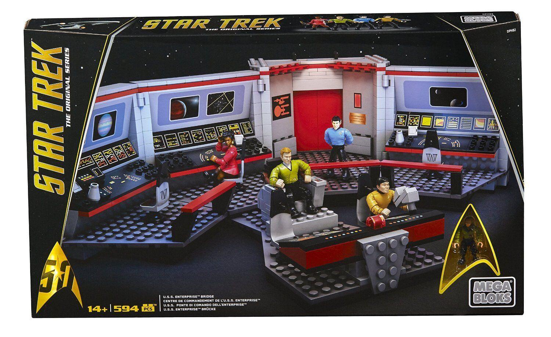 Mega Bloks Star Trek U.S.S. Enterprise Bridge Collector Construction New Sealed