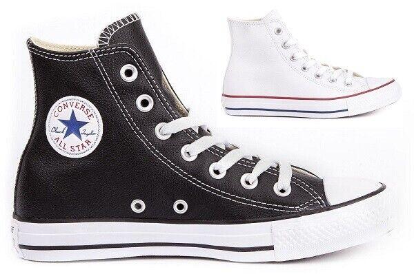 Chuck Taylor Tutti in pelle pelle pelle bianca  scarpe stivali pour donna  tutti i prodotti ottengono fino al 34% di sconto