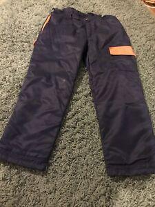 Mens Makita Chainsaw Trousers Sz L