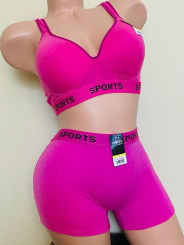 3 Bra 6 SPORT BRAS Workout Active Wear YOGA RACER BACK Molded CUP WIRE FREE LOT