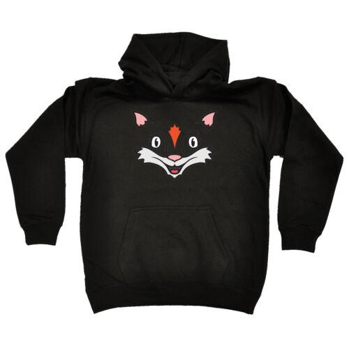 Funny Kids Childrens Hoodie Hoody Am Fox
