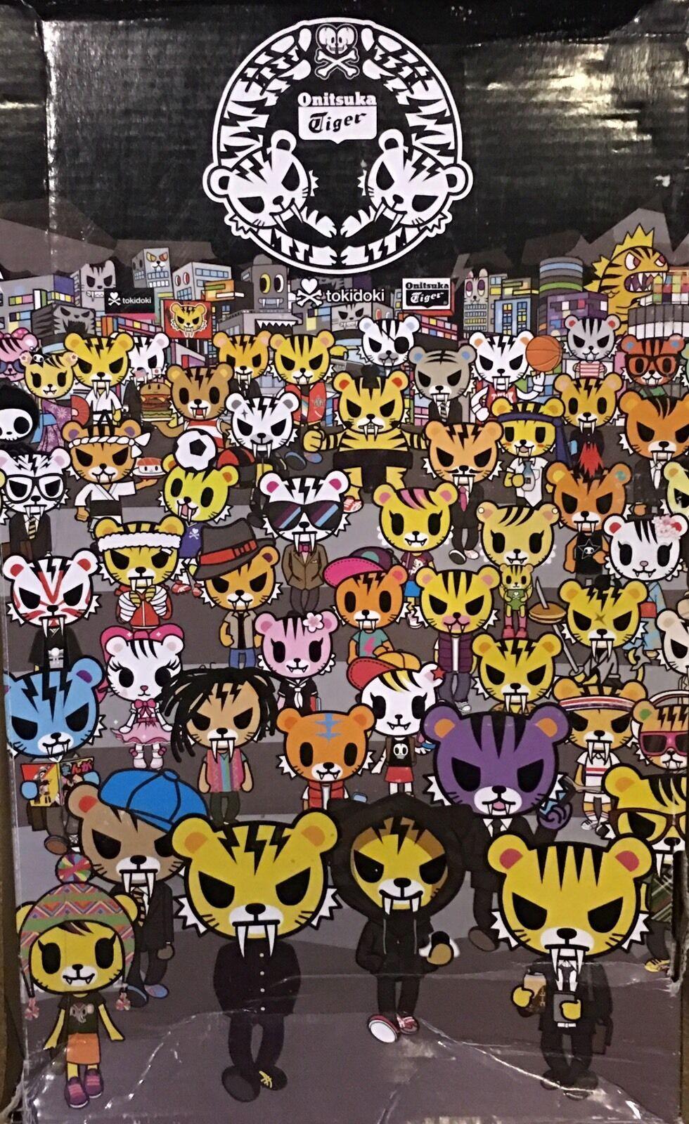 Asics onitsuka tiger, kalifornien, 78 78 78 tokidoki größe 12 stadt laufschuhe turnschuhe ee2806