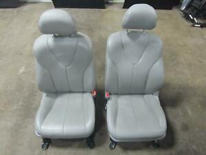 11-TOYOTA-CAMRY-LE-Front-Seat-Seats-Leather-OEM-Pair-Left-Right-Driver-Passenger